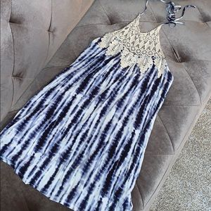 💙Tye-Dye💙 Halter Dress